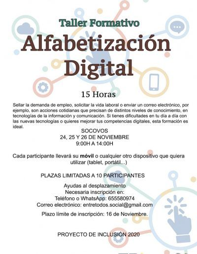 ALFABETIZACIÓN DIGITAL SOCOVOS WEB
