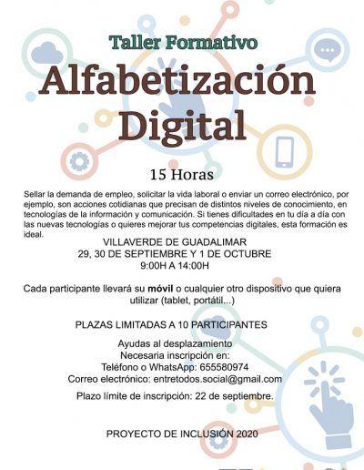 ALFABETIZACIÓN DIGITAL VILLAVERDE WEB