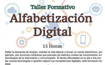 TALLERES DE ALFABETIZACIÓN DIGITAL
