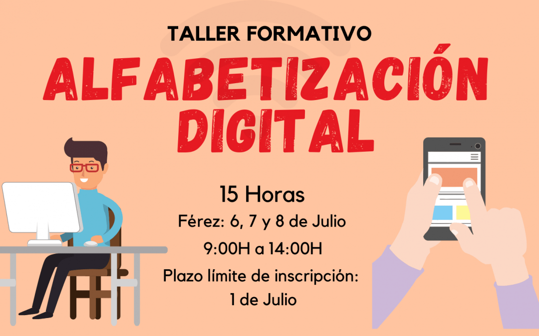 """TALLER FORMATIVO """"ALFABETIZACIÓN DIGITAL"""" EN FÉREZ"""