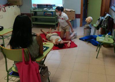Práctica Cruz Roja Ayna